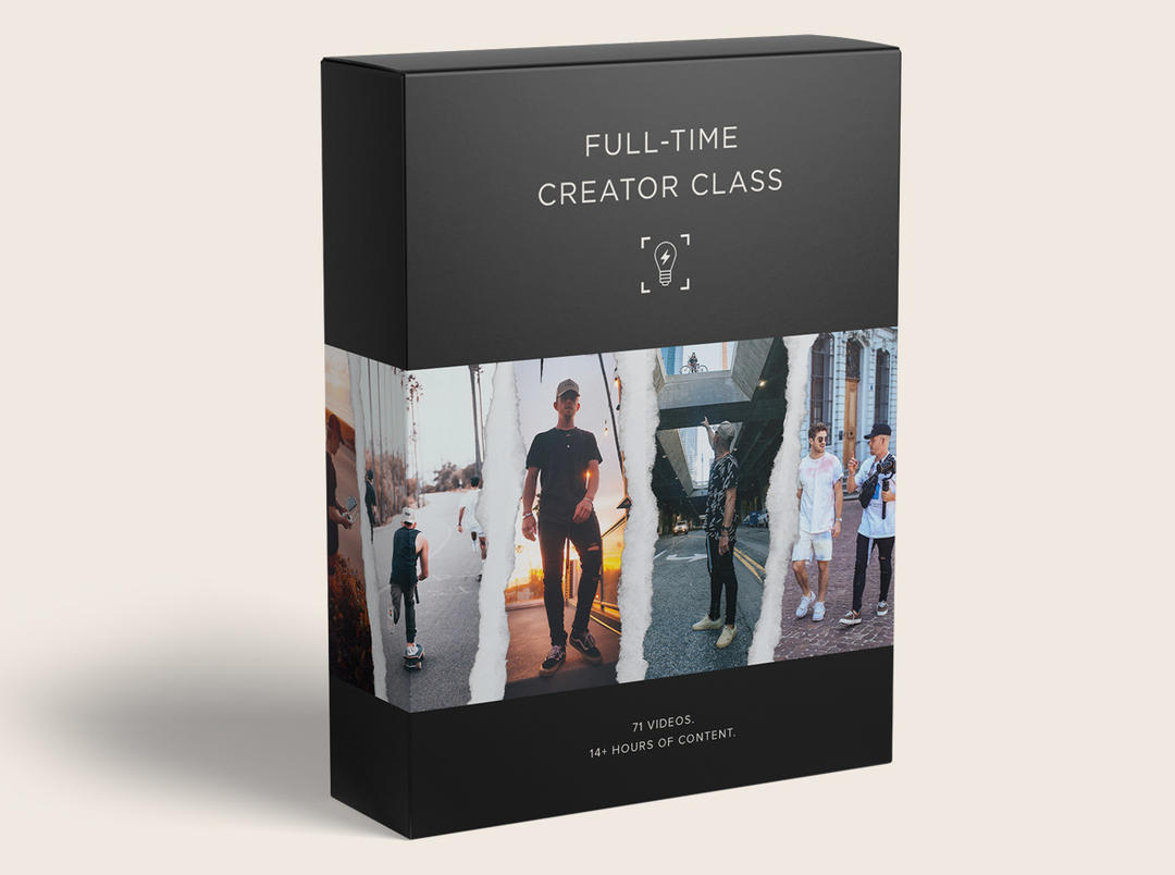 Full-Time Creator Class by Jeremiah Davis 影视制作课程 中英文双语字幕