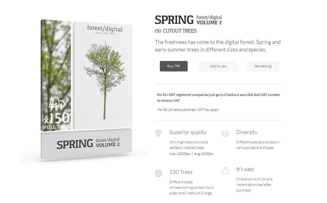 Forest/Digital vol. 2 - Spring