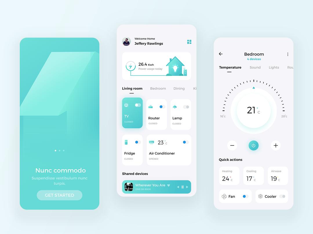 Blip - smart home app concept