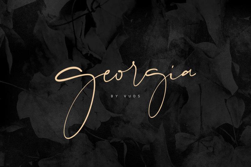 Georgia Script 2220659