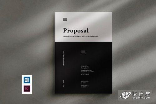 Proposal 3265649 项目提案模版 项目方案书