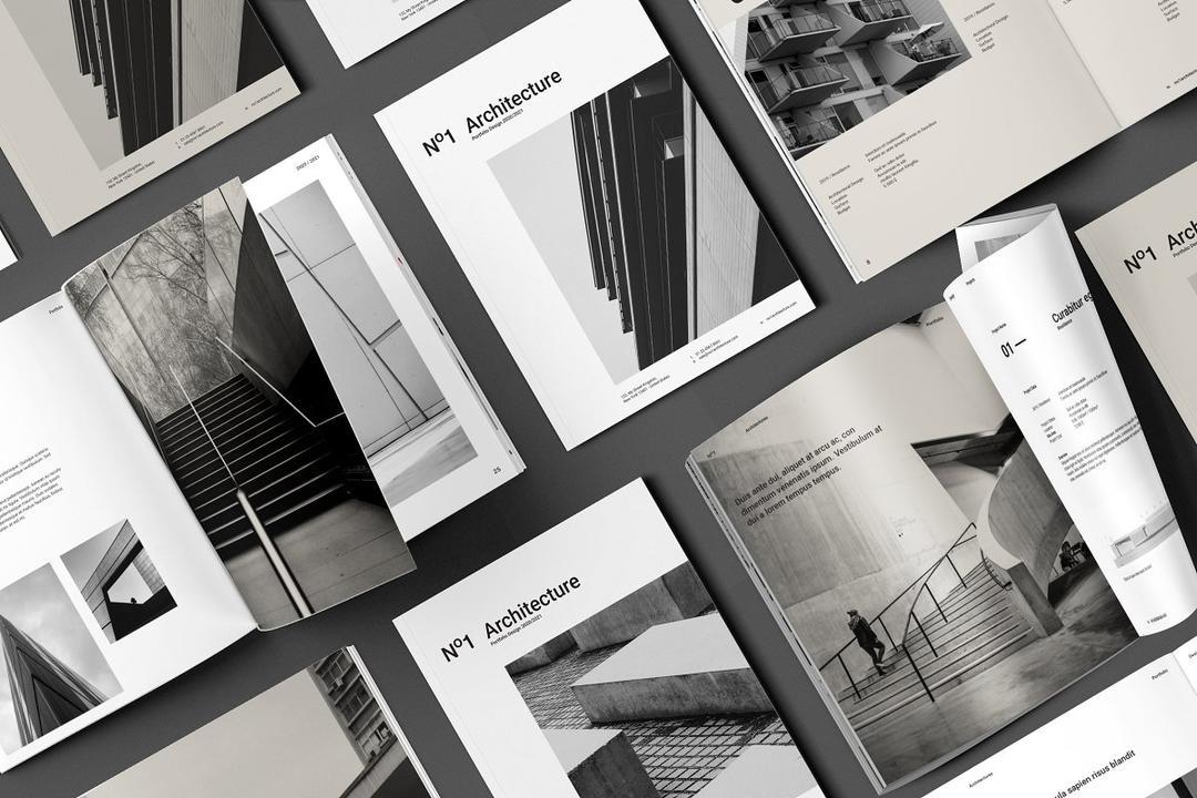 Architecture Brochure 3568428 建筑手册 建筑主题宣传册模版