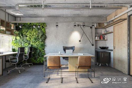Interior Office Room Scene By DuyPham 内政部办公室场景 工作室室内模型 工业风办公场景模型