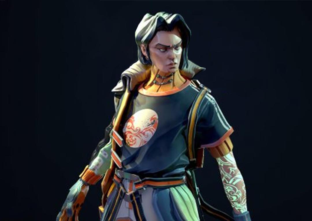 赛博朋克少年 街舞角色模型 格斗人物角色模型 朋克少年 朋克大侠 炫酷赛博朋克人物模型 格斗游戏人物