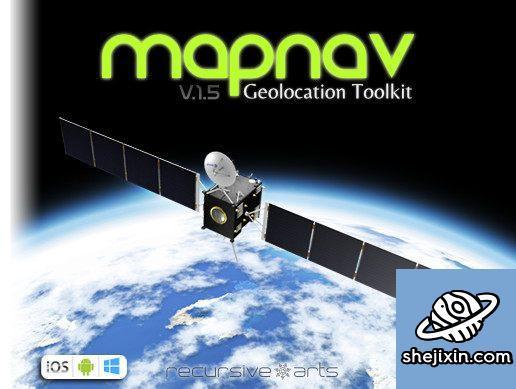 Unity Asset – MapNav – Geolocation Toolkit