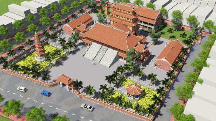 3D Scenes Sketchup Pagoda SKP古建筑场景 沿海寺庙佛塔模型 孔庙建筑场景 古建筑场景
