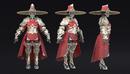 Armor Set PBR 红衣侠女 红衣领主模型 女武将 杨门女将 教主模型 -缩略图