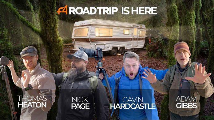 F4公路旅行摄影课程 F4 ROAD TRIP - VIP Package