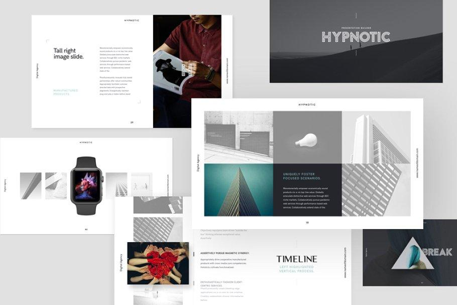 Hypnotic Keynote Presentation Theme