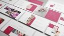 Nail Salon Powerpoint,Keynote and Google Slides Template 美容美甲行业PPT模版-缩略图