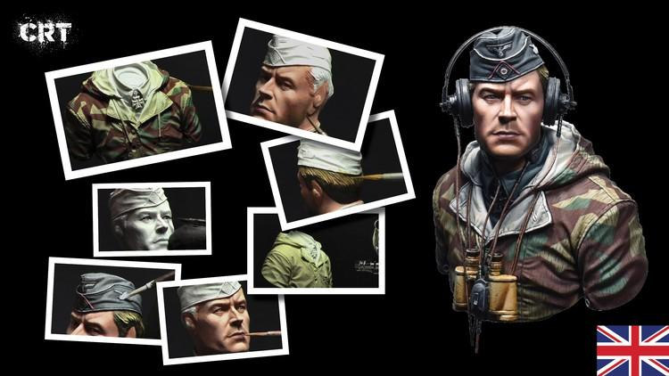 Learn how to paint a bust from WWII
