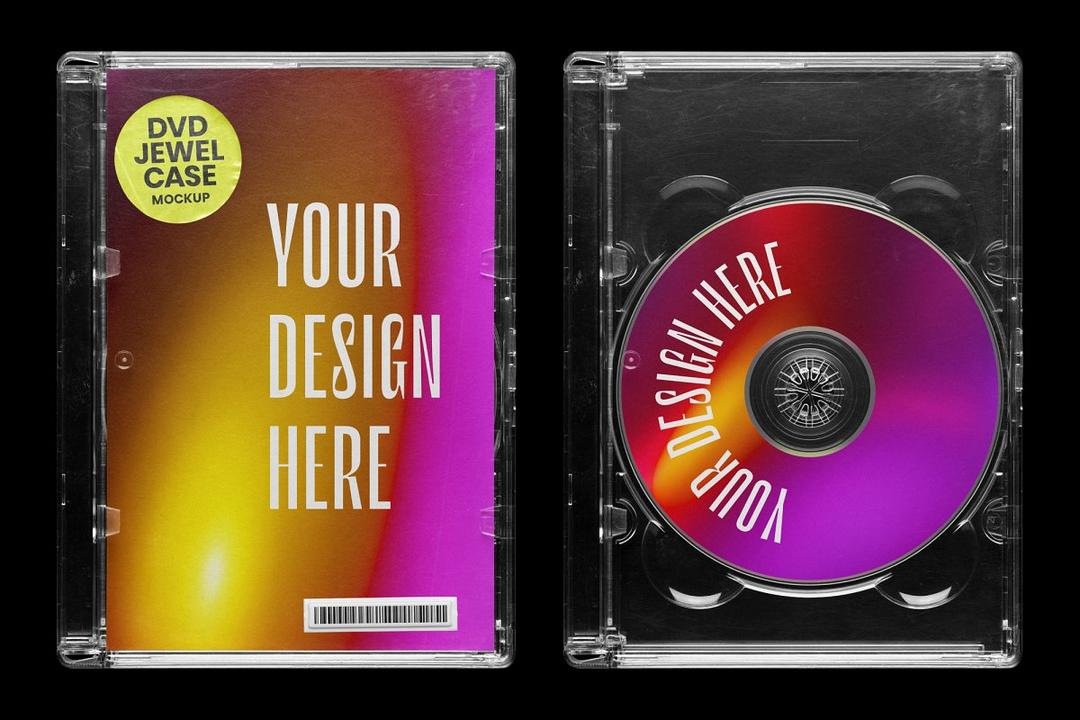 Disc Jewel Box Mockup 4069118