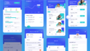 Qyuota Mobile Provider App UI Kit 电信业务APP UI  电信运营商 话费充值APP UI模版-缩略图