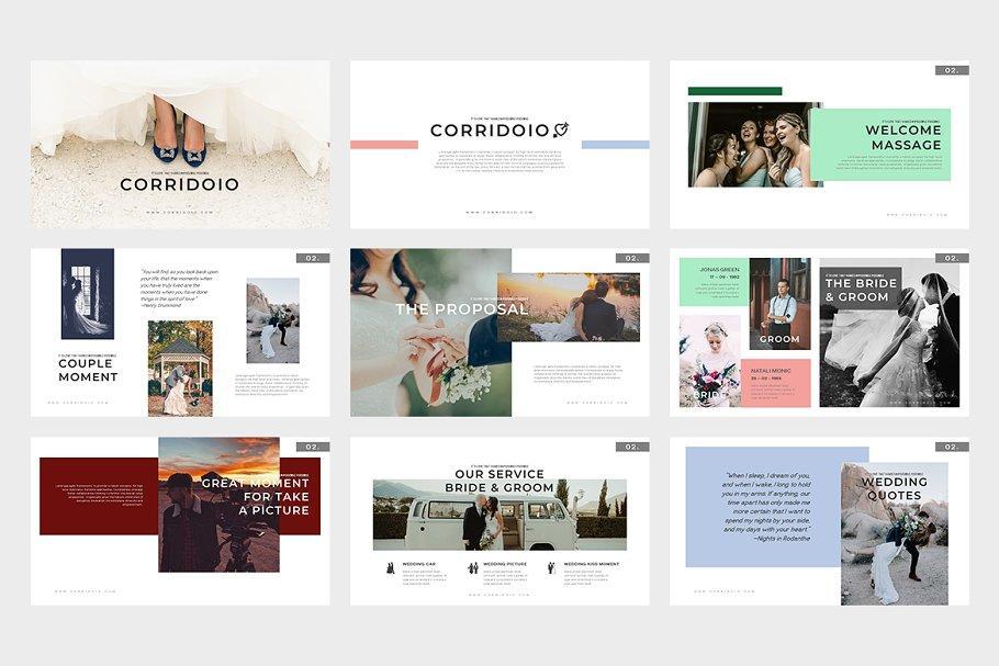 Corridoio Wedding Planner Powerpoint+Keynote