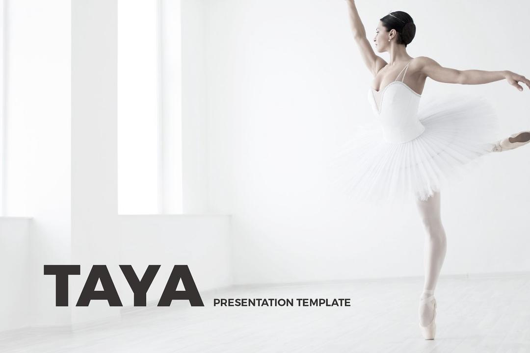 Taya Presentation Template+Keynote