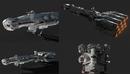 Tantive IV – Blockade Runner – Corellian Corvette PBR 科幻宇宙飞船模型-缩略图
