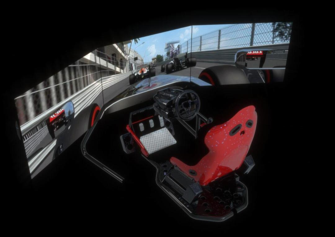 Racing game simulator赛车游戏模拟器 AR游戏模拟设备 VR赛车游戏设备 5D赛车游戏模拟器 赛车游戏驾驶舱
