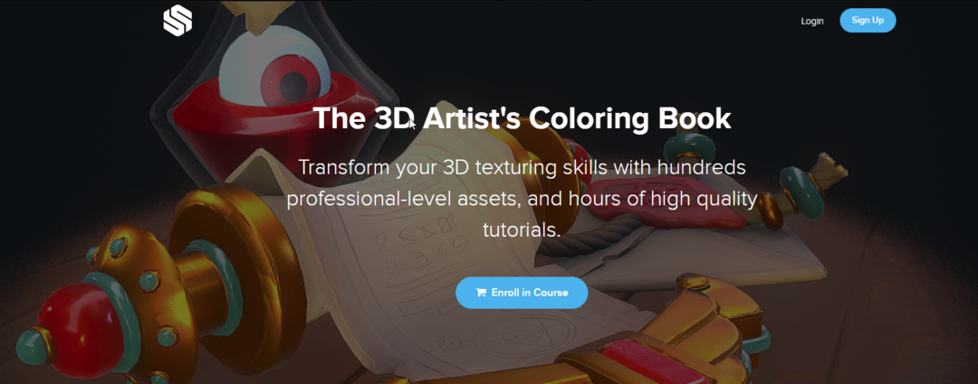 StylizedStation - The 3D Artist's Coloring Book