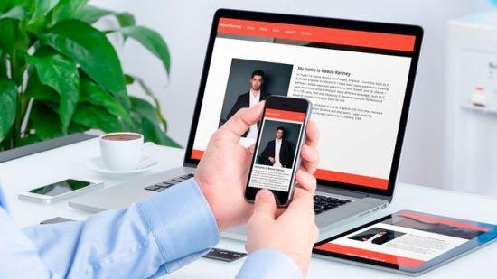 Udemy - Make a Responsive Portfolio Website JavaScript and HTML