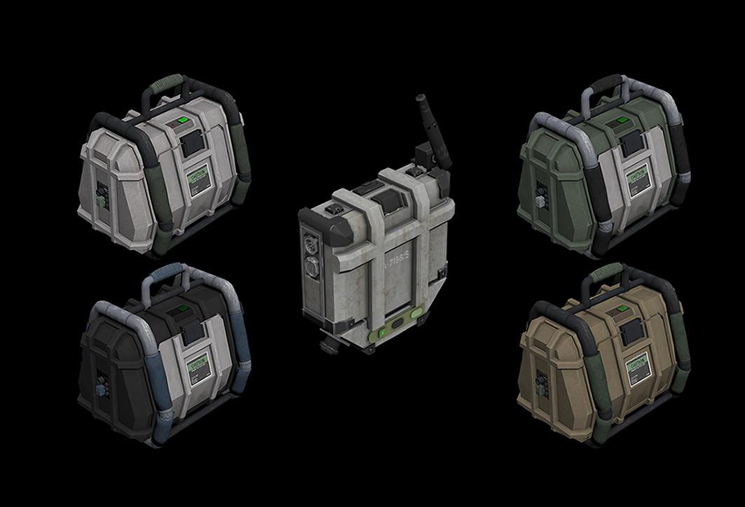 全境封锁补给箱模型 Support stations 3D model