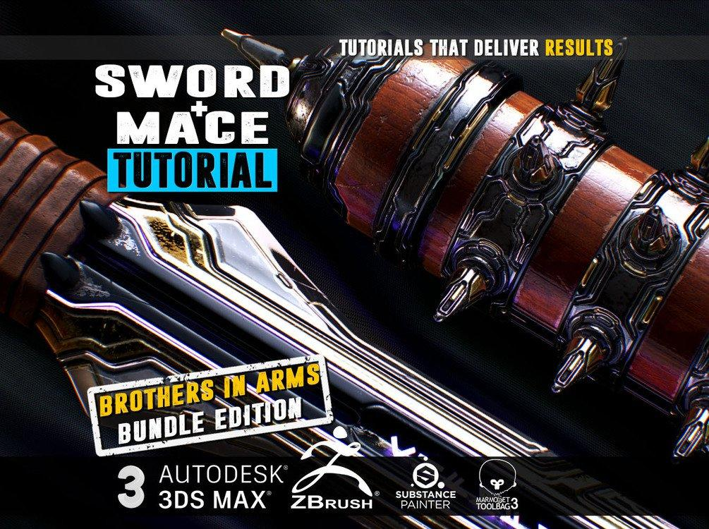 Gumroad - SWORD MACE Tutorial ULTIMATE BROTHERS IN ARMS BUNDLE EDITION