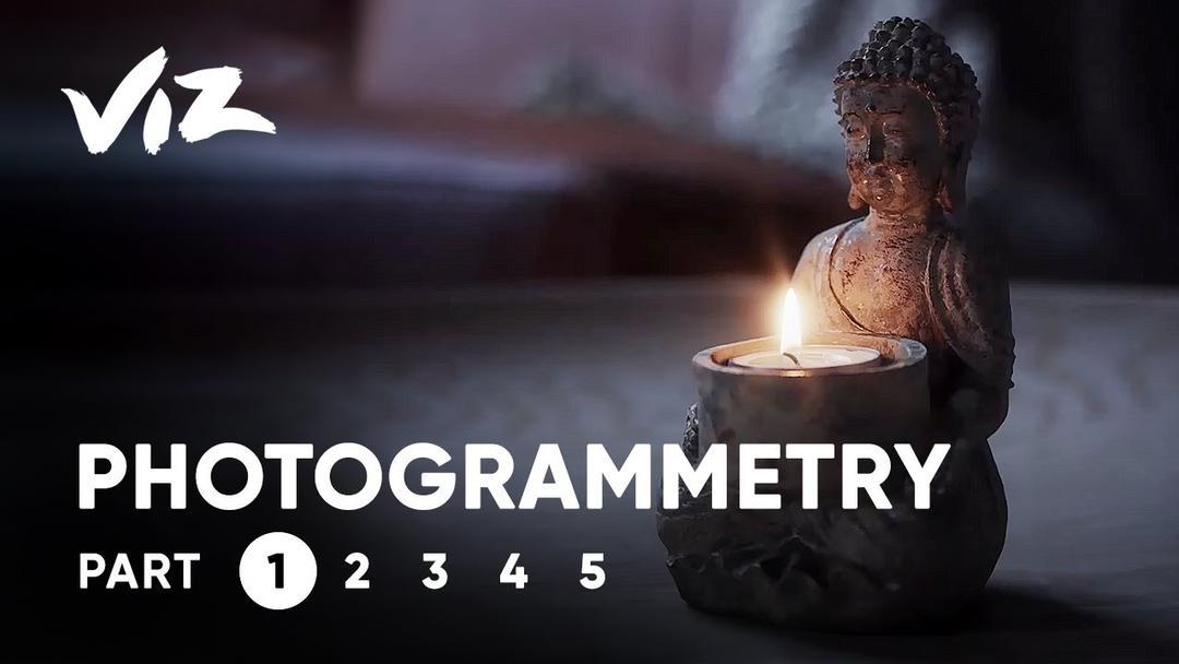 Patreon – Photogrammetry with Johannes Lindqvist 摄影照片扫描建模教程