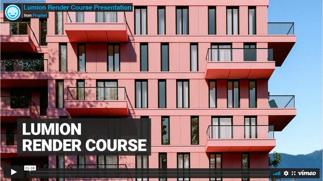 Lumion Render Course by Nuno Silva