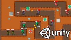 Learn how to create a 2D Tower Defense Game in Unity 2020