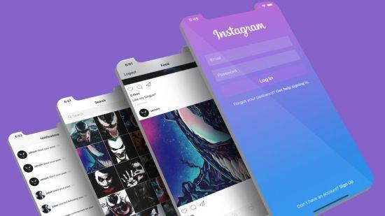 Instagram Firestore App Clone   Swift 5 + iOS 14   MVVM