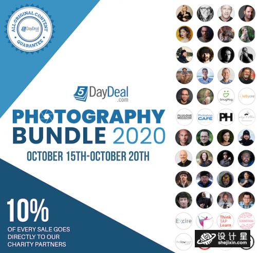 5DayDeal - Complete Photography Bundle 2020 6套合集