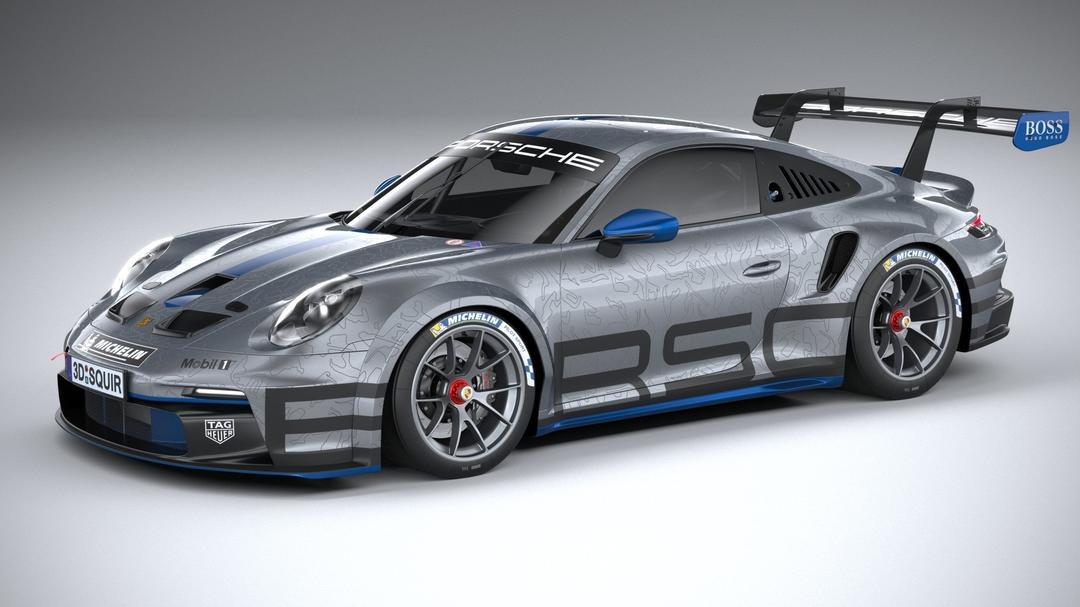 2021款 保时捷 911 GT3 Cup 性能跑车 杯赛车队版 Porsche 911 GT3 Cup 2021