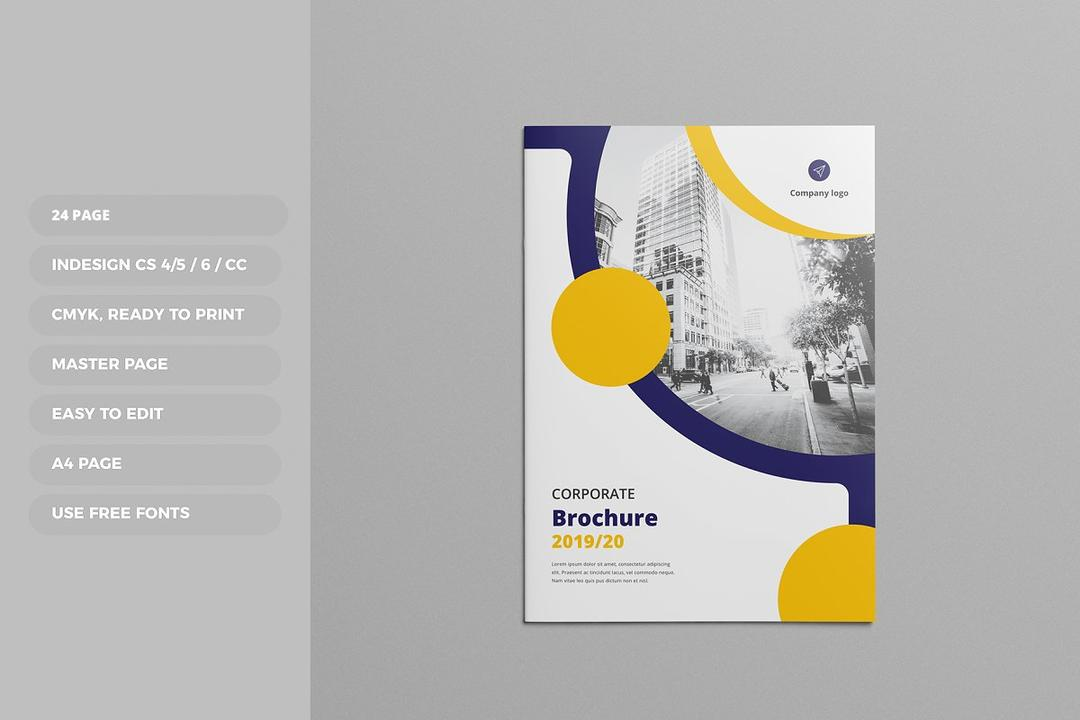 Proposal Brochure Template 4590806提案宣传册模板