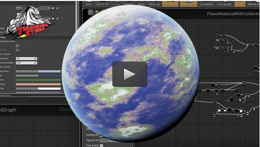 Creating Modular Planets in Unreal Engine 4