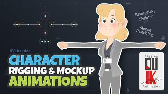 Character Rigging Mock Up Animations 30582147