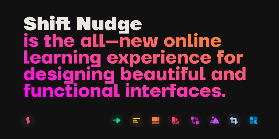 Shiftnudge - Interface Design Course