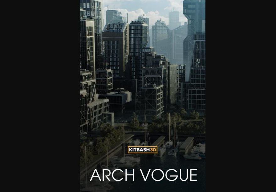 Kitbash3D - Arch Vogue 建筑大楼模型
