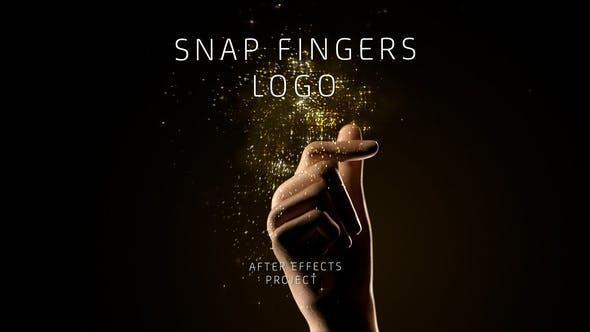 Snap Fingers Logo 24198870 打响指logo 演绎AE模板