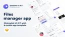 Spojeeto Kalender Mobile App UI KIT-缩略图