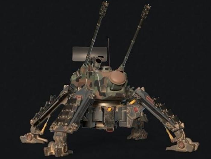 SPAA L4X8 Lynx 仿生机器人 山猫机器人 蟋蟀机器人 战争机器人 昆虫机器人