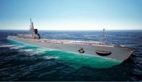 IJN I400 Submarine 潜艇补给舰 日本海軍潜艇 海軍补给舰