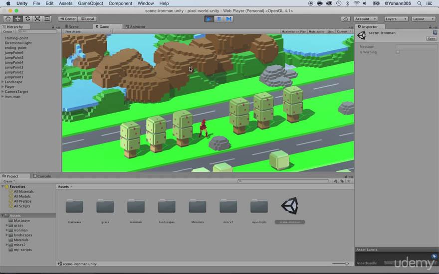 Udemy - Unity 2016 游戏动力学教程