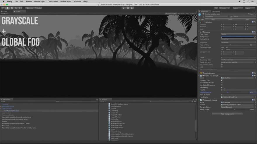 CGCookie - unity 画面效果基础教程