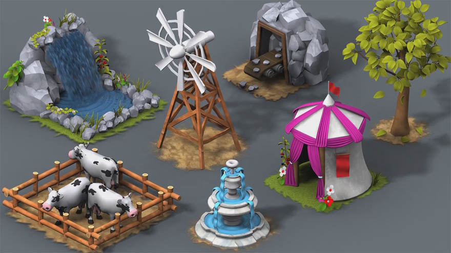 Digital Tutors - 在 3ds Max 和 After Effects 里创建用于游戏中的循环动画