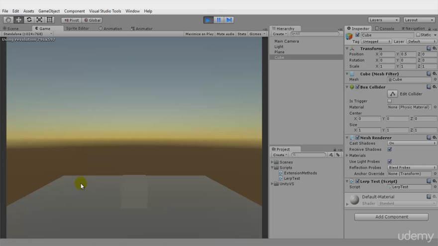 Udemy - Unity3D - Unity从头开始制作游戏教程