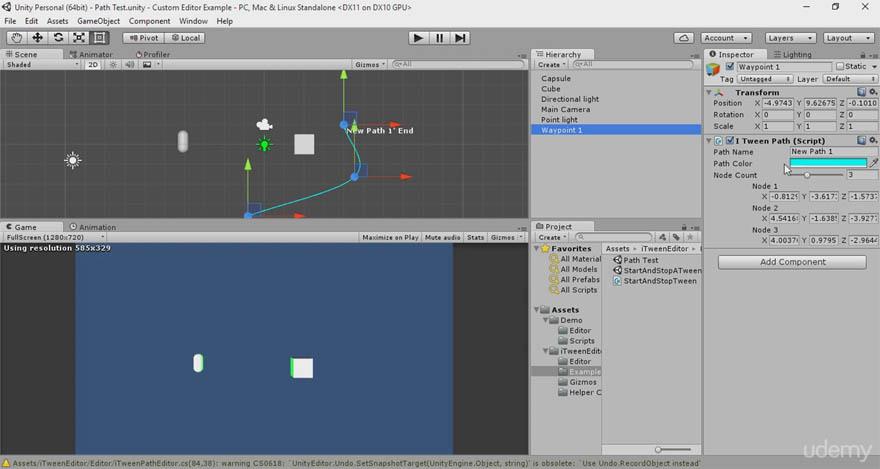 Udemy - 使用自定义Inspectors 加速 Unity的游戏开发速度