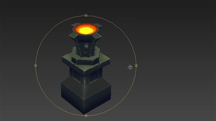 Udemy - 3dsmax photoshop 从零开始创建一个游戏资源模型