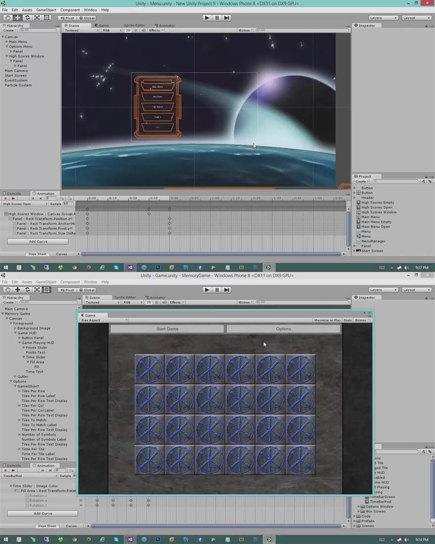 Unity 4.65.0 现代科幻风格界面开发教程