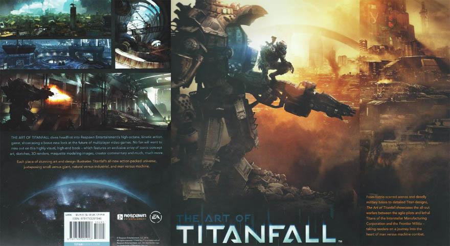 The Art of Titanfall,泰坦陨落原画/艺术书