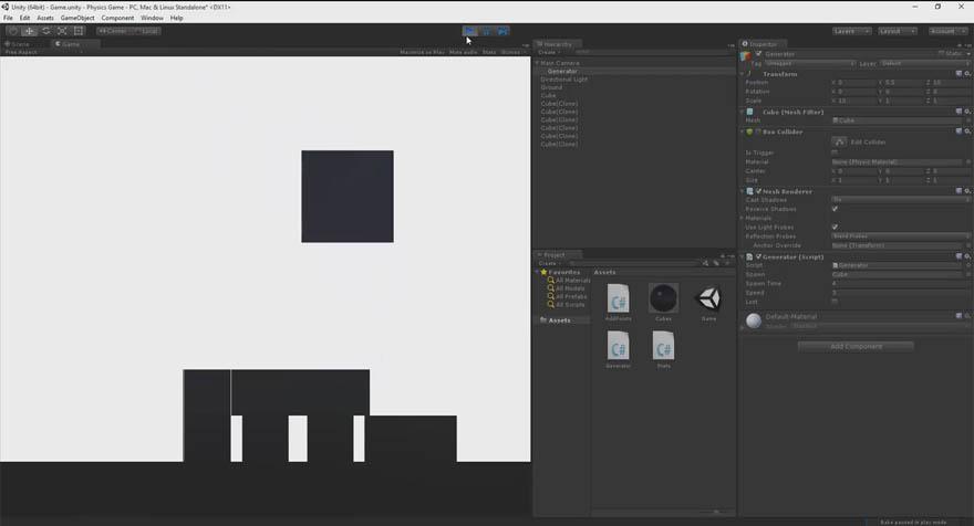 Udemy - 在Unity 创建一个2D的物理游戏