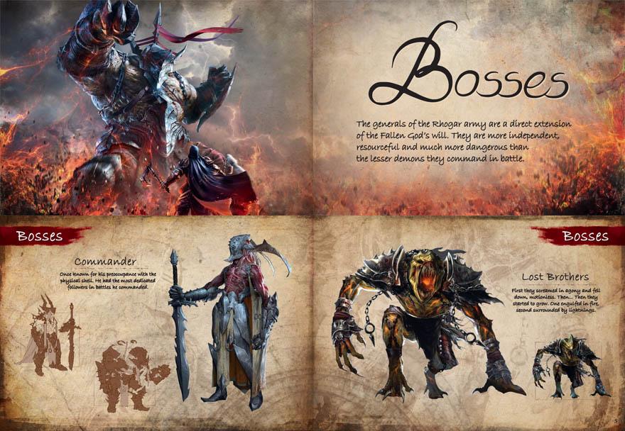 lords of the fallen Artbook,堕落之王艺术书/原画/设定集。
